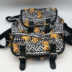 Lion King Baby Simba Disney Backpack